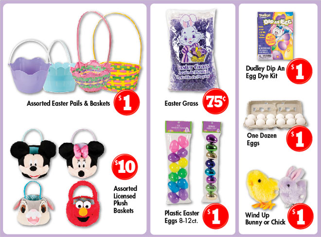Family dollar everything you need for the perfect easter basket something for all ages we are your one stop easter headquarters negle Gallery