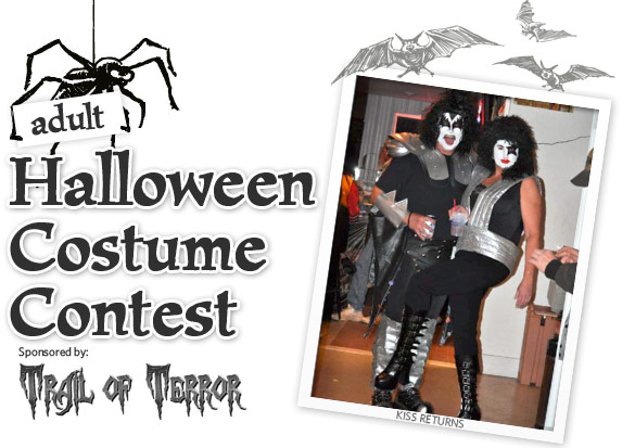 Adult Halloween Costume Contest - Sponsored by Trail of Terror