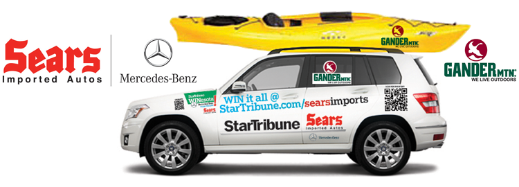 Star Tribune WINesota Mercedes-Benz Lease Sweeps! Sponsored by Sears Imported Autos